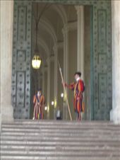 The Swiss Guards in the uniforms (despite the heat): by murrihyk, Views[91]