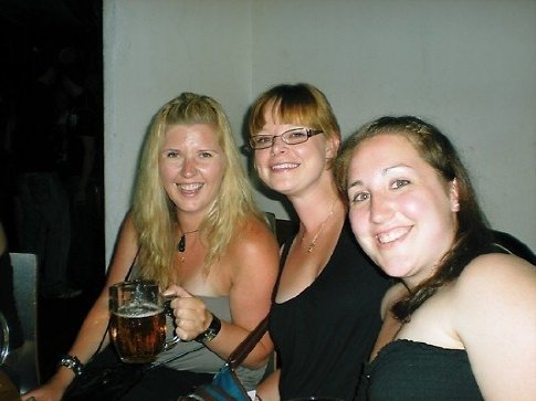The Beer Factory - Cristal, me and Christine
