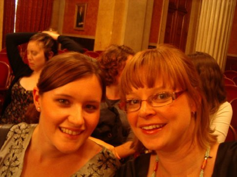 Brooke and I at the Mozart Concert, Vienna Austria