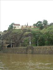 Cruising down the flooded river, Prague: by murrihyk, Views[82]