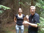 Anta and Arturs picking mushrooms: by murrihyk, Views[199]