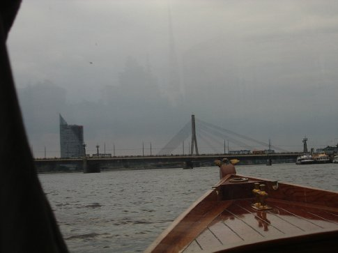 Out of the River in Riga