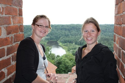 In the tower of Segulda castle