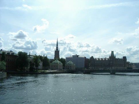 Arriving in Stockholm