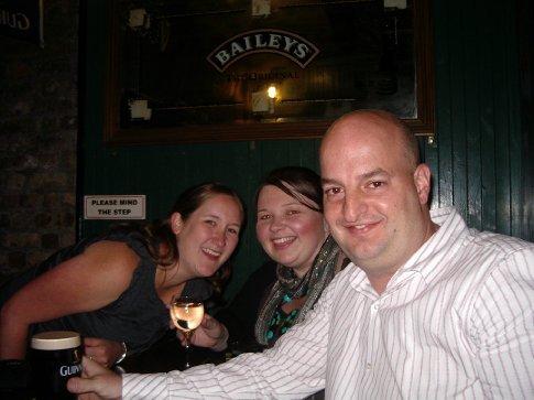 Claire, Rachelle and Steve