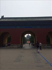 This is the entrace to the Temple of Heaven, a place of worship and sacrifice used for emperors to pray for a good harvest. : by mwollak, Views[71]
