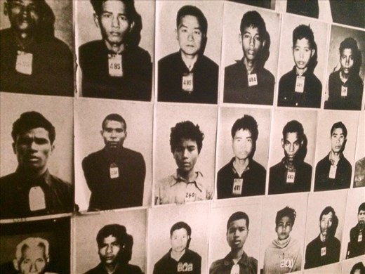 Located in the haunting halls of an old school was the Toul Sleng Genocide Museum in remembrance of those tortured and killed during the brutal reign of the Khmer Rouge Regime