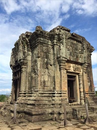 Exploring temples