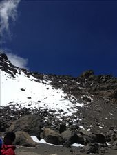 In the crater looking at the last leg of the climb up to the summit!: by my_year_of_yes, Views[56]