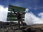 I MADE IT!!!! Uhuru Peak (19,341 ft) ~ Tallest Point in Africa!!