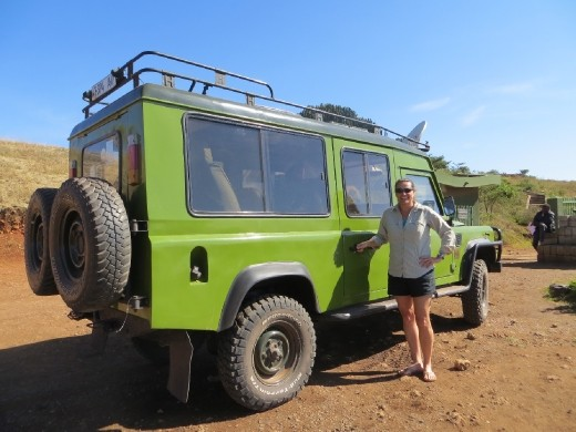 Our Land Rover ... man it took a beating. Joseph was VERY good at keeping it well maintained. We saw MANY safari vehicles broken down all over the place and we were very fortunate that we never had an issue!