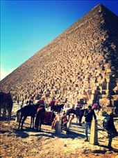 Pyramid of Khufu (a.k.a. The Great Pyramid of Giza) built for King Cheops.: by my_year_of_yes, Views[124]