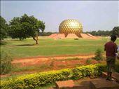 The Matrimandir{pondicherry,india): by mycam, Views[73]