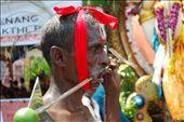 Devotion. A 'kavadi' bearer at the hindu festival of thaipusam: by myrawther, Views[313]