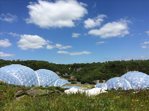 The Eden Project in St Austell