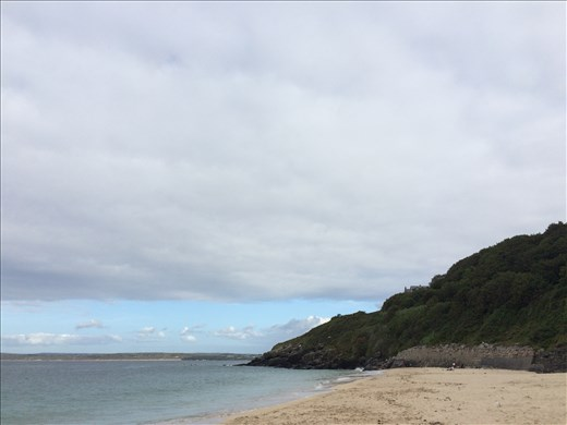 Dense clouds beautifully covering the St Ives