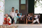 They are provided 600.000 vnđ (~30 usd) every month for food. All of them are cerebral-palsied and they can't control their actions, they just stayed there, cried, slept, even tried to eat their hands for almost time when I was there.: by namlongnguyen, Views[878]