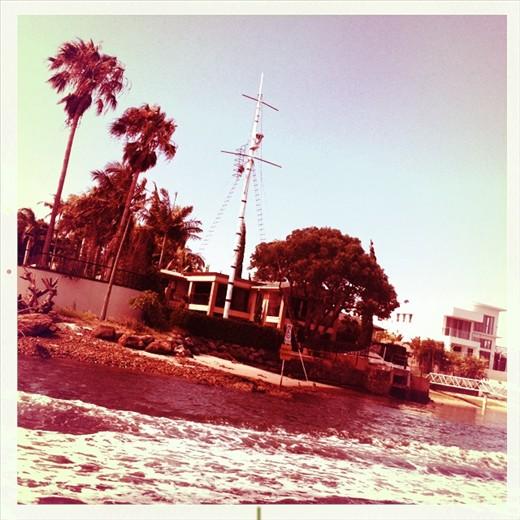 Sailing Broad Beach