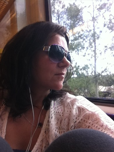 On the train to Nerang