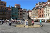 A typical summer scene in Warsaw's historical Old Town: by nandini, Views[339]