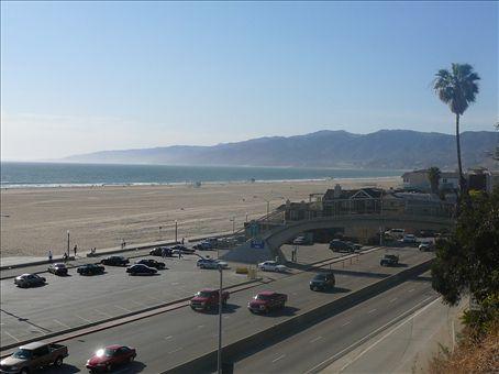 From Santa Monica heading towards Malibu