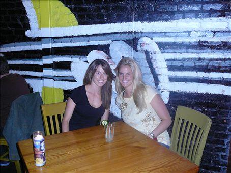 Nat + Em at Borders Grill