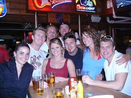 Birthday crew