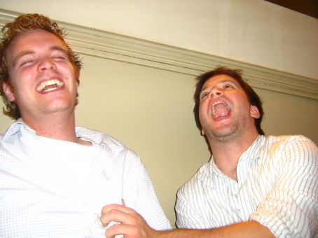 13.10.07 Jeremy and Bruno having a laugh again