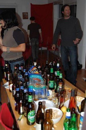 The end of the party...