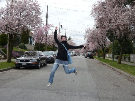 It's springtime !! April 5th