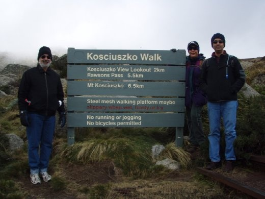 Kosciuoszko Walk, Mt Kosciuszko, New South Wales, Australia