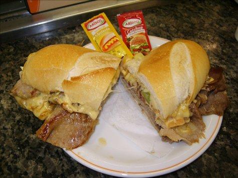 ein ganz normales sandwich...