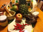 ingredients for making rujak: by nellnelson, Views[108]