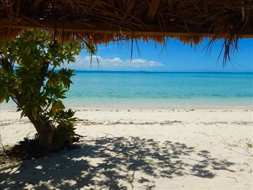 Shady spot in paradise, Tivua Island