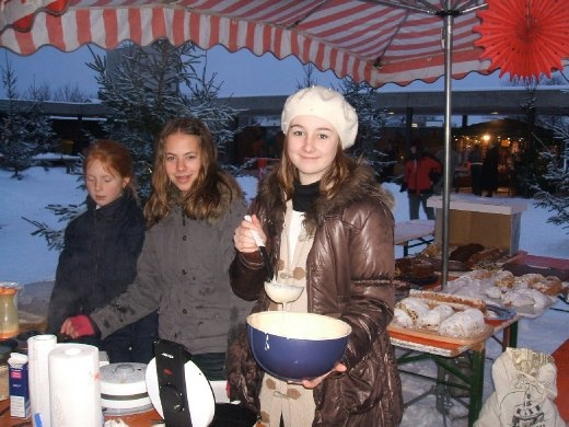 Christmas bazar at the ISM