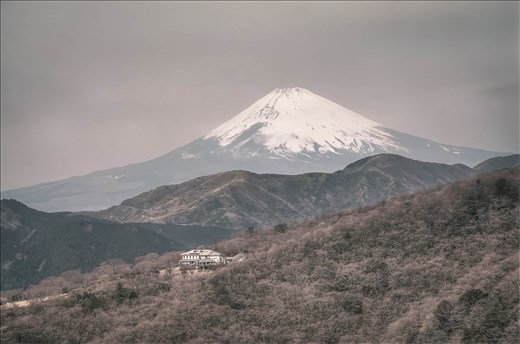 Japan's most famous natural landmark is often steeped in cloud so I was lucky