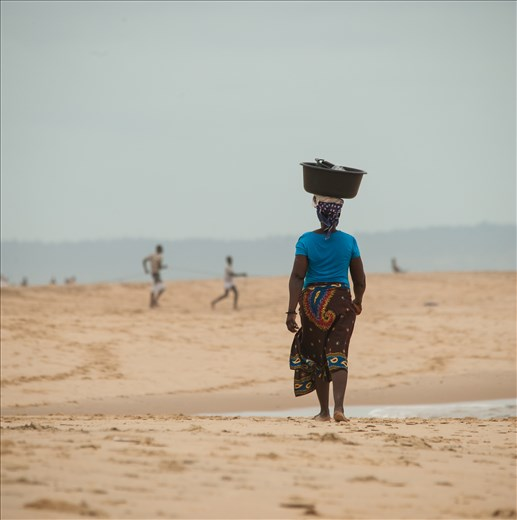 African Women. Incredibly strong, when full must weigh +/- 20kilos