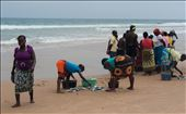 Bartering.  After bartering, count out their fish - sustainable fishing: by nickyblue2014, Views[117]