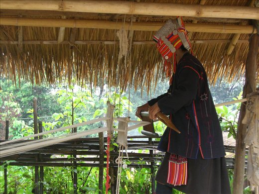 Traditional weaving