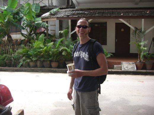Chris in Luang Prabang