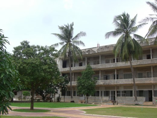 S21, the Khmer Rouge's infamous prison, for it's more serious prisoners like doctors, laywers and politicians...