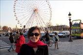 Me with the Ferris wheel (Place de la Concorde): by nicolasophie, Views[203]