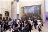 the huge amount of people trying to see the Mona Lisa: by nicolasophie, Views[98]
