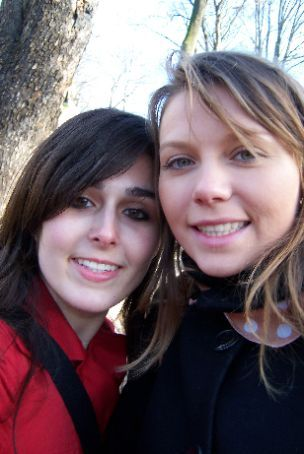 me and ana FREEZING to death in cemetary