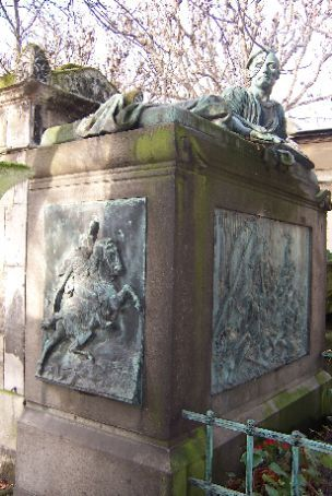 gericault's grave