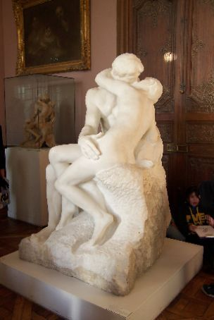 podin or putin or someone like that's sculpture that i liked: Le baiser