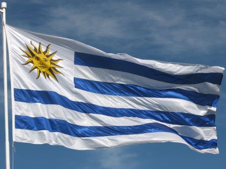 The Uruguayan flag...