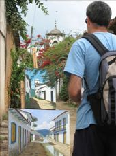 A photo of the paintings of the colonial streets of Parati,  showing the colonial streets of Patati!!!  :-): by nigelb, Views[230]