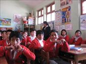 A school that our World Vision sponsorship supported.  Some of the kids are supported by the World Vision project.: by nigelb, Views[157]