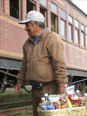 Vendors were a common sight on trains and buses all over Latin America.: by nigelb, Views[139]
